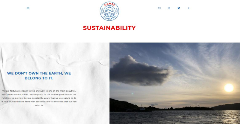 Kames Sustainability #1