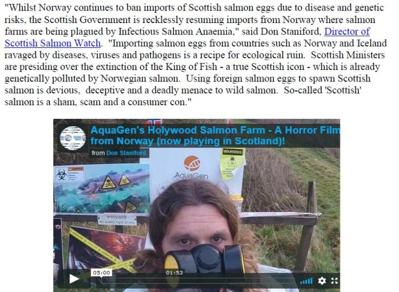 PR Norwegian Salmon Ova Slip Back Into Scotland 25 August 2020 #4
