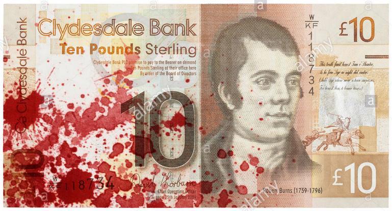 AST blood money