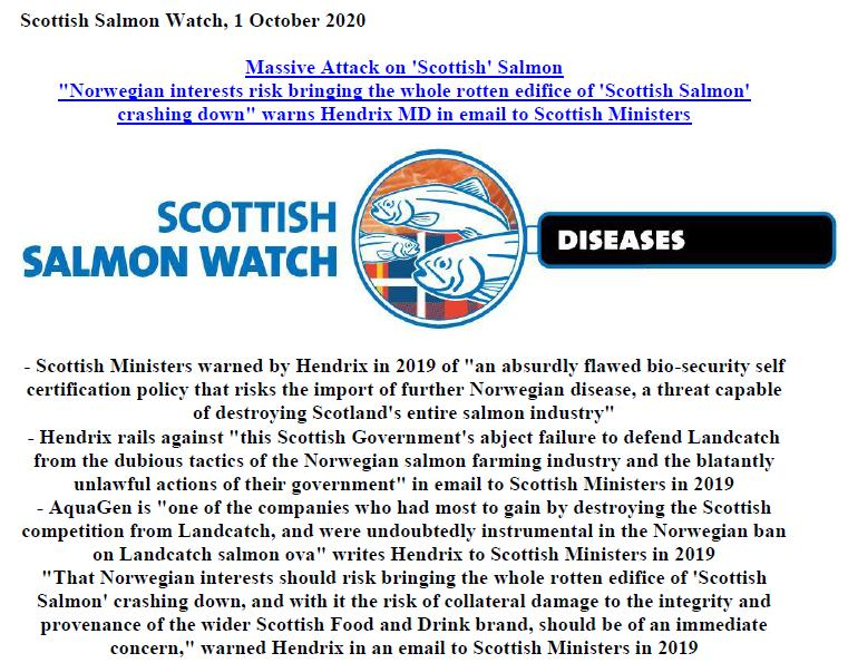 PR Rotten Edifice of Scottish Salmon 1 October 2020 #1