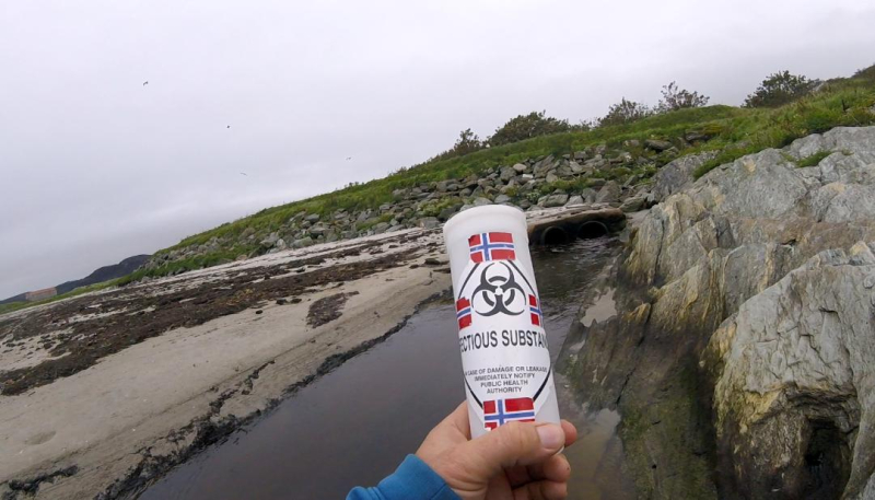 Effluent #2 Norway flag