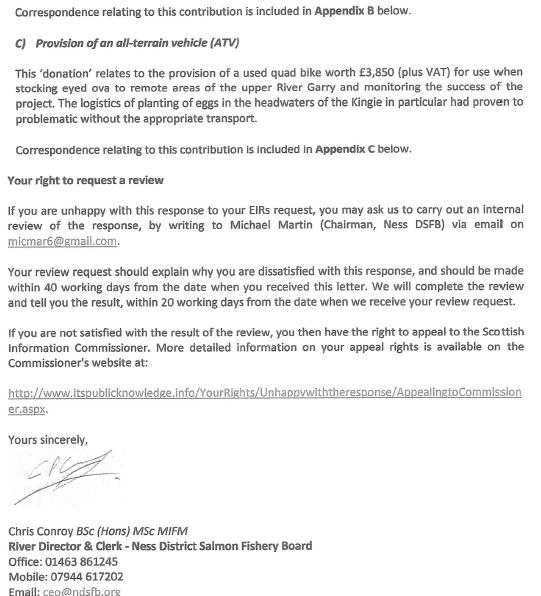 Ness District FOI reply Oct 2020 covering letter 12 October 2020 #5