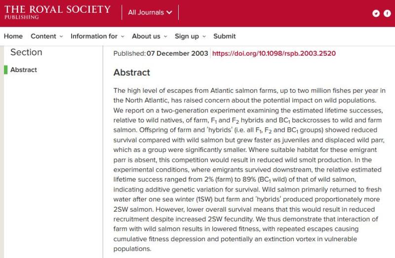 Royal Society paper 2003 #2