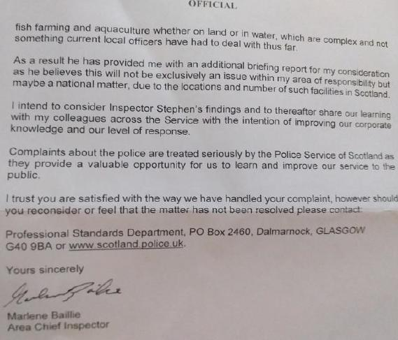 Police Scotland apology letter 2 October 2020 #2