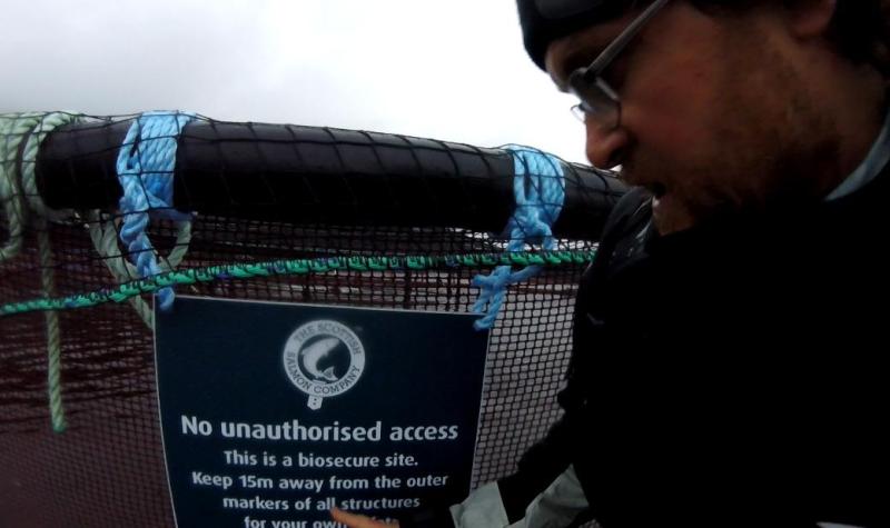 No Unauthorised Access Quarry Point Sept 2020 #1