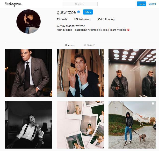 Gustav Instagram #1