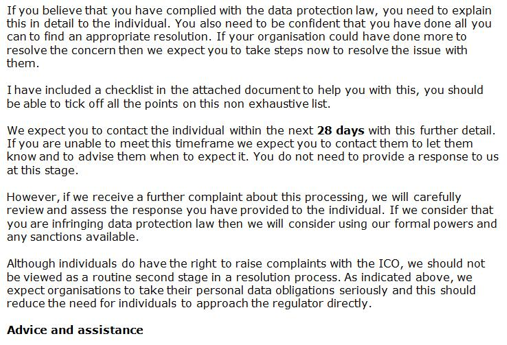 ICO complaint from Lesley Rice 16 Feb 2021 #4