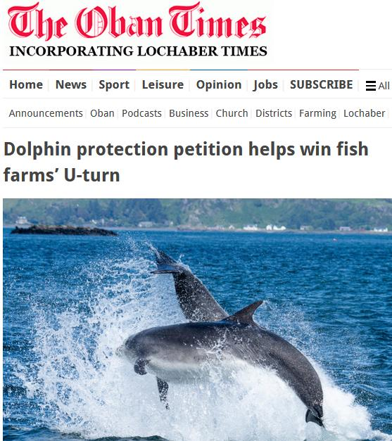 Oban Times ADD u turn petition 22 Feb 2021 #1
