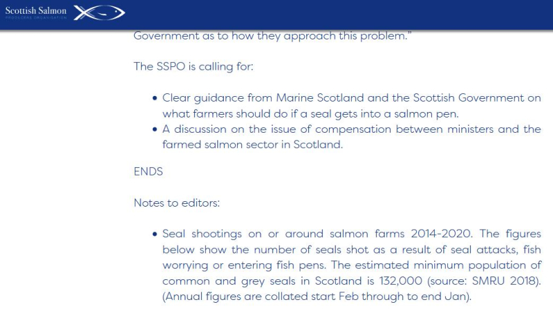 SSPO PR on £13 m Compensation 18 Feb 2021 #5