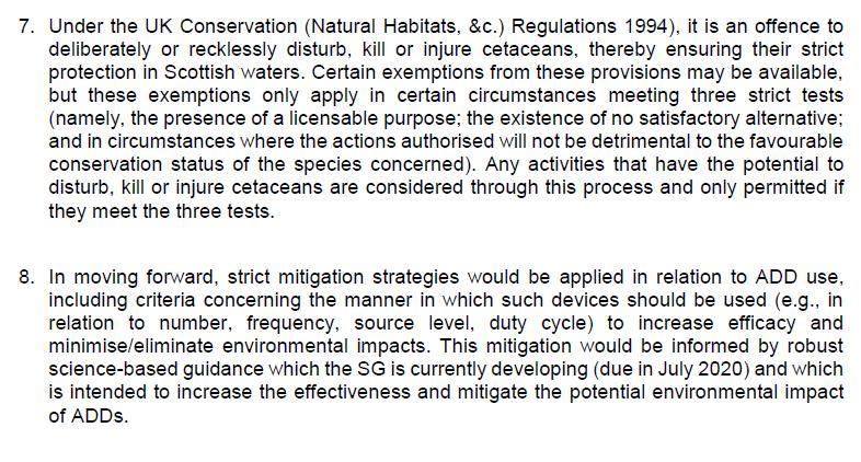 FOI SG MMPA 29 Oct 2020 SG letter to NOAA 7 Jan 2020 #3
