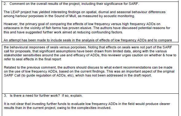 SARF ADD report #5 SNH FOI disclosure June 2020