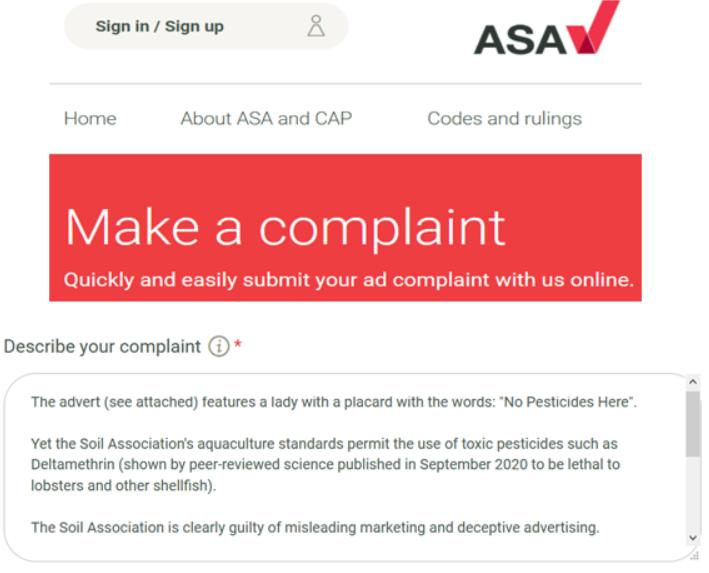 ASA complaint 21 March 2021 #1