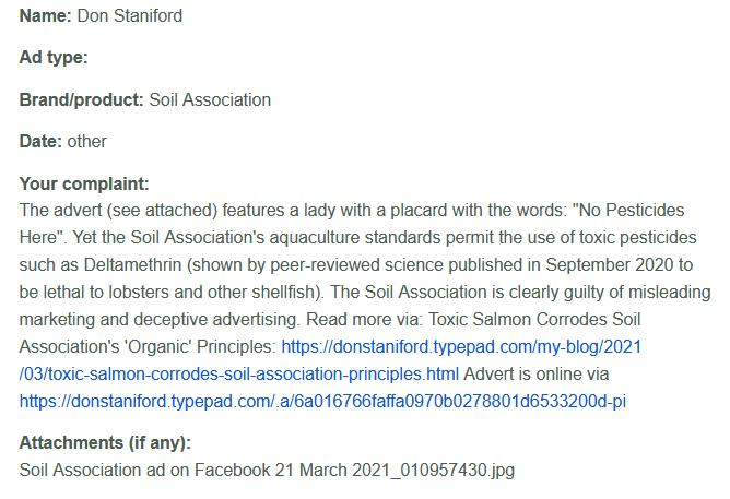 ASA complaint 21 March 2021 #4