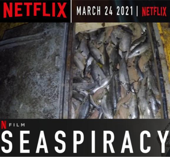 Seaspiracy Netflix salmon poster