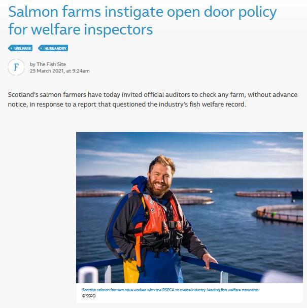 Fish Site 25 March 2021 open door policy #1