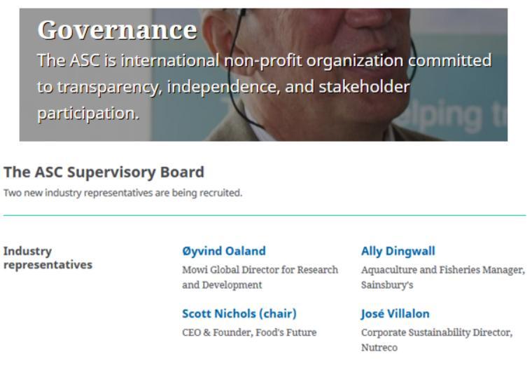 ASC Governance March 2021