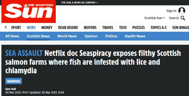Seaspiracy Sun 30 March 2021