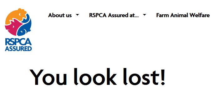 RSPCA seal page deleted 31 March 2021