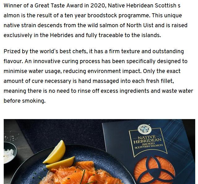 Native Hebridean salmon #10