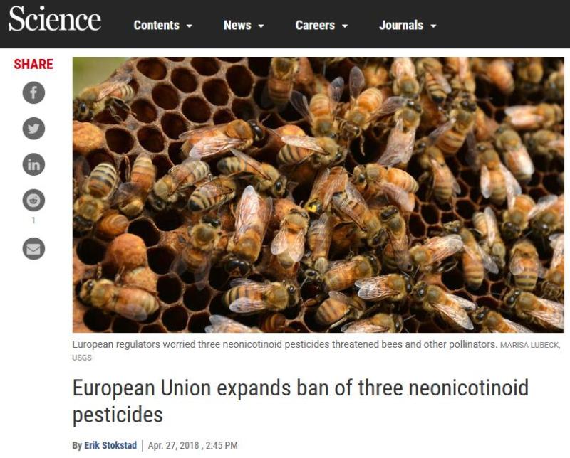 Science EU ban 2018