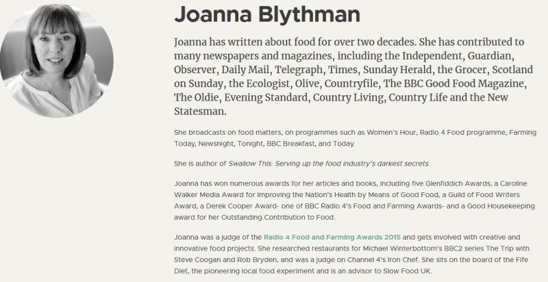 Blythman Bio