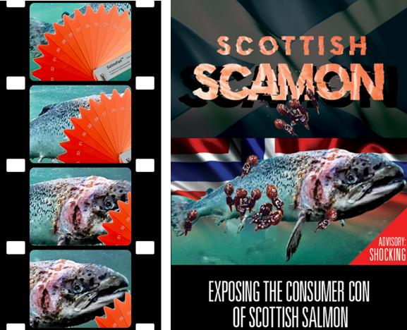 Scottish Scamon poster with film strip low res