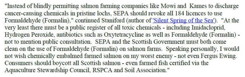 PR Cancer-causing chemical flooding Scottish lochs 24 May 2020 #19