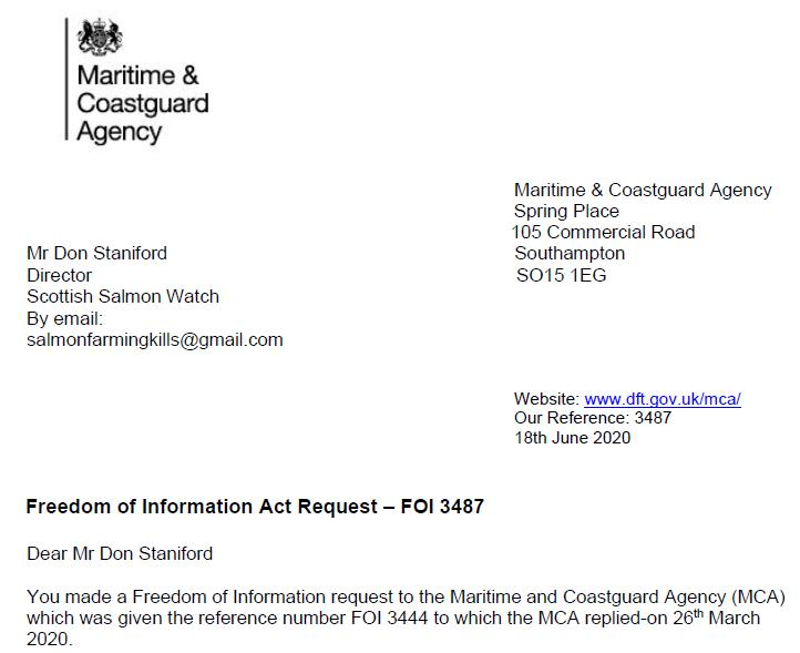 M&CA FOI reply re Mowi death in Loch Alsh 18 June 2020 #1