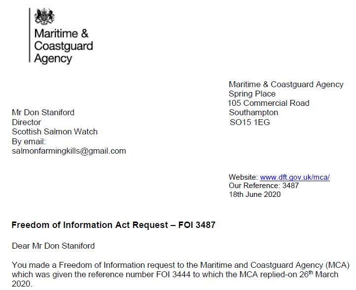 M&CA FOI reply re Mowi death in Loch Alsh 18 June 2020 #1