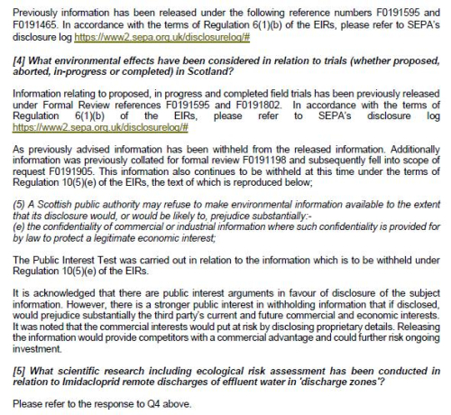 SEPA FOI letter 26 June 2020 #3