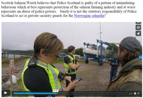 Letter to Police Scotland re Loch Creran 29 July 2020 #3