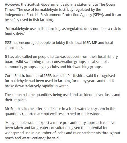 Oban Times 20 Aug 2020 Formaldehyde ban online #3