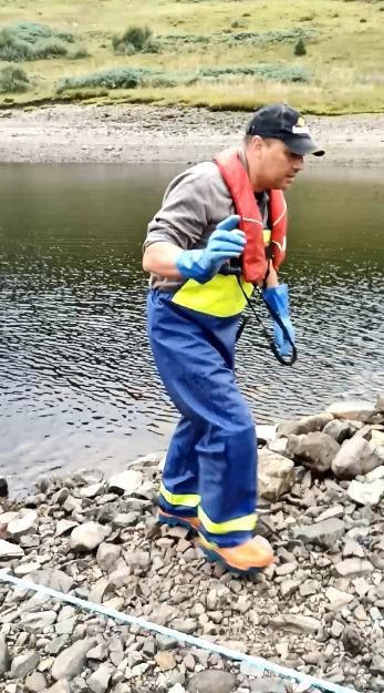 Paul Luckhoff 22 Aug 2020 Loch Tralaig