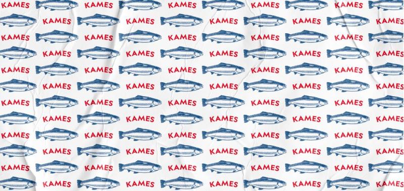 Kames rebrand 2020 fish