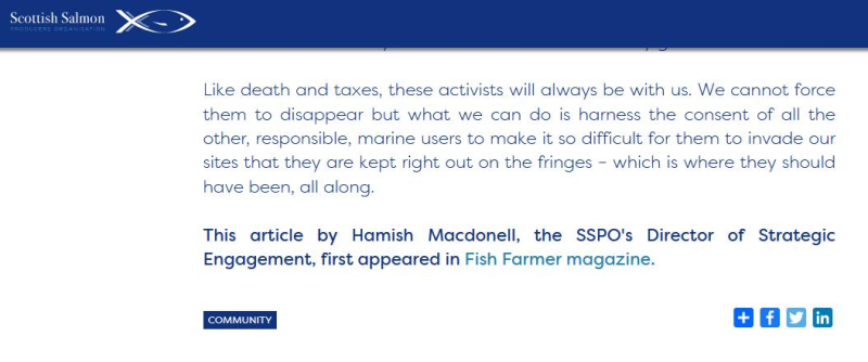 SSPO Irresponsible Activism article by Hamish 20 Aug 2020 #11