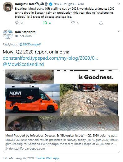 Q2 2020 report #8 Douglas Fraser Tweet