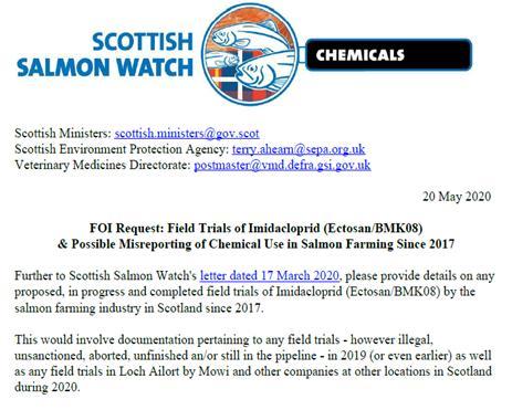 FOI SG Imidacloprid trials 5 Aug 2020 online 1 Sept 2020 #3