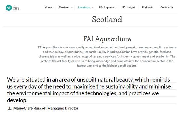 FAI Ardtoe website