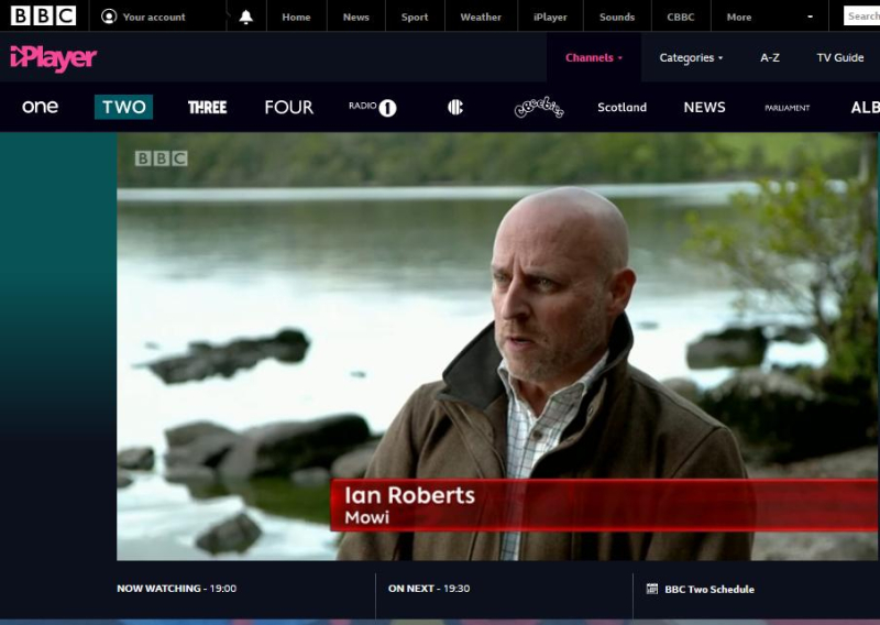 BBC One Show 12 Oct 2020 #2 Ian Roberts