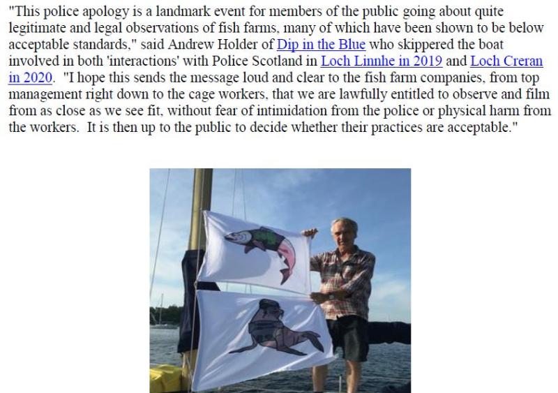 PR Police Scotland Apology 14 Oct 2020 #8 Andrew quote