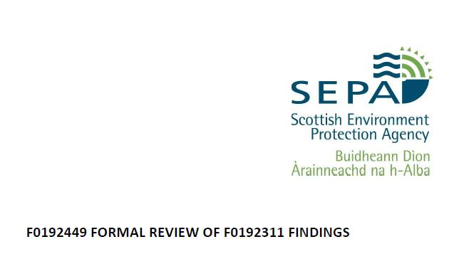 F0192449 Review Officer Report SEPA October 2020 #1