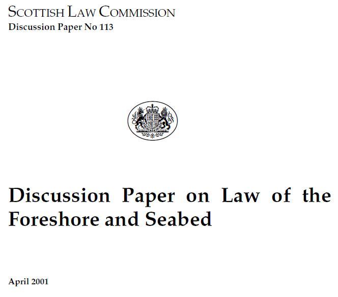 Scottish Law Commission 113 #1