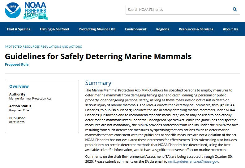 NOAA proposal Aug 2020