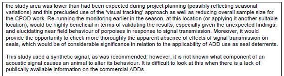 SARF ADD report #10 SNH FOI disclosure June 2020