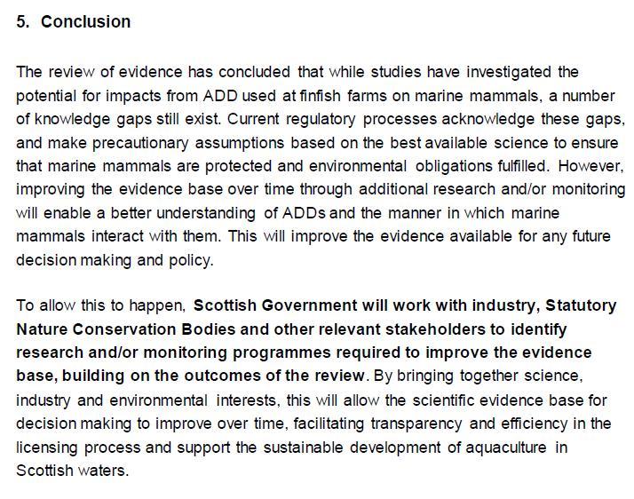 ADD 1 March 2021 #4 SG report conclusion