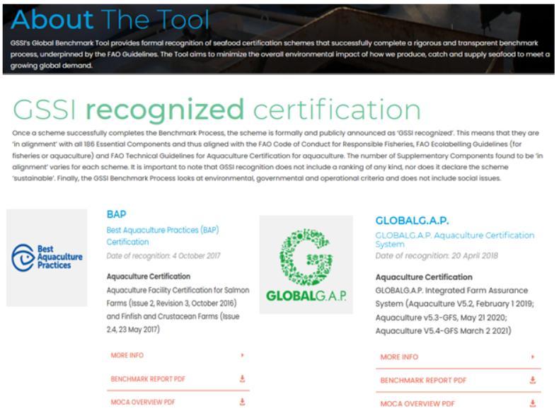 GSSI recognised certification #1