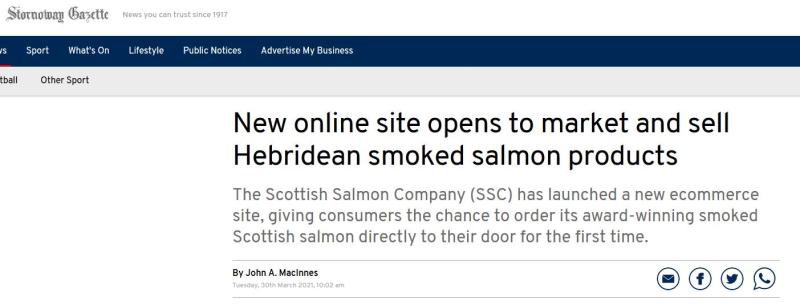 Native Hebridean salmon #8