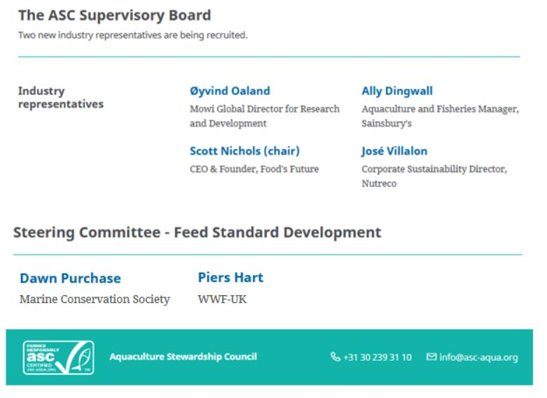 ASC Governance March 2021 #5