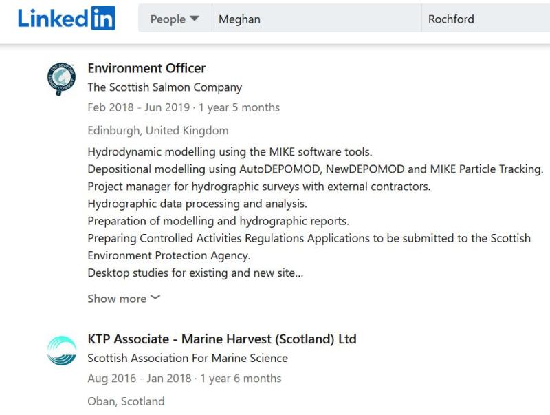 Meghan Rochford LinkedIn #2