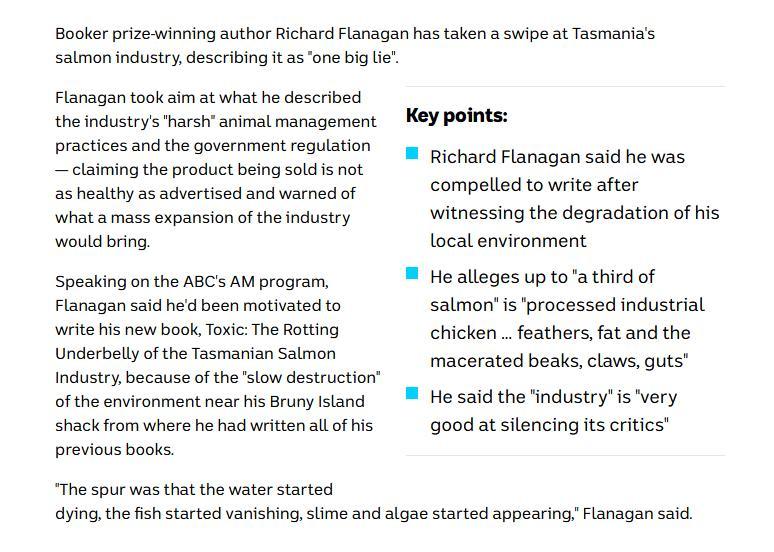Toxic book Richard Flanagan #11